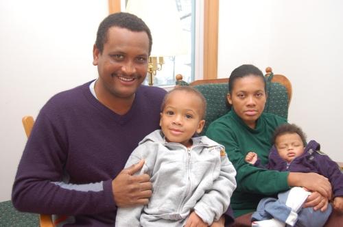 Fritz Jeanty family