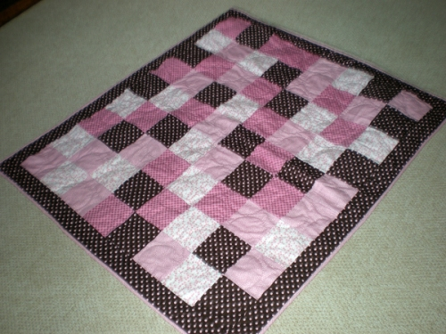 Baby quilt by Bruce Stambaugh