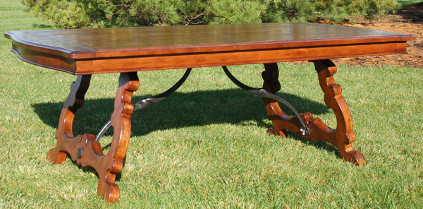 Handcrafted table by Bruce Stambaugh