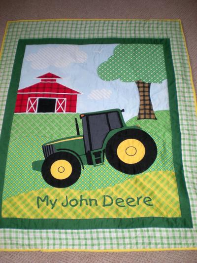 John Deere quilt by Bruce Stambaugh