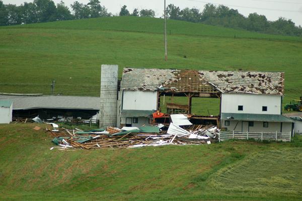 Tornado hits Ohio's Amish country | Roadkill Crossing