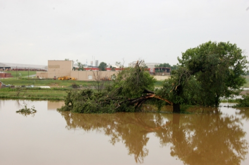 flooding at Sugarcreek, OH