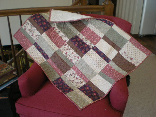 A small quilt by Bruce Stambaugh