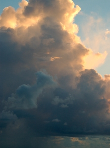 A billowing cloud by Bruce Stambaugh