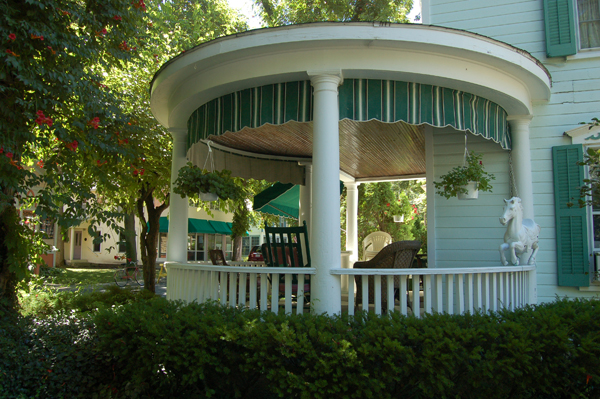 Round porch at Lakeside, Ohio by Bruce Stambaugh