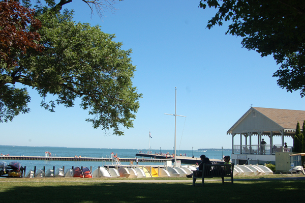 Lakeside view by Bruce Stambaugh