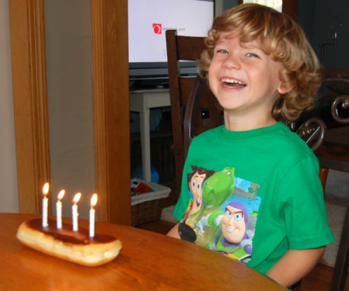 Davis' fourth birthday by Bruce Stambaugh