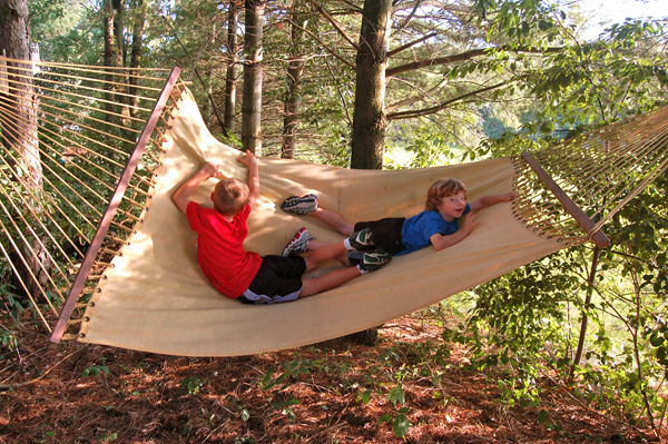 Hammock fun by Bruce Stambaugh