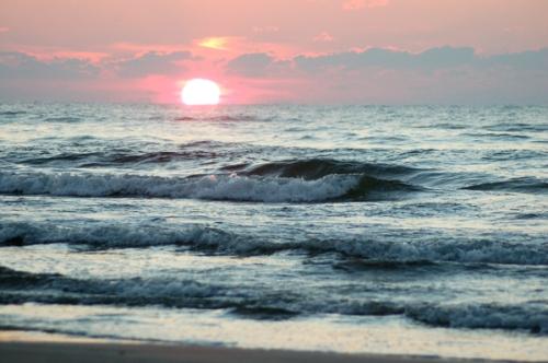 Seaside sunrise by Bruce Stambaugh