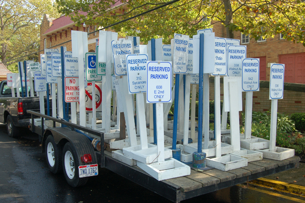 Lakeside signs by Bruce Stambaugh