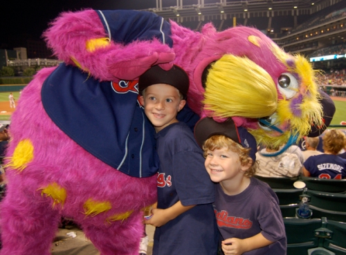 The boys and Slider by Bruce Stambaugh