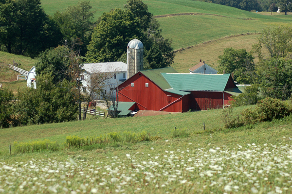 Charm, Ohio farm by Bruce Stambaugh