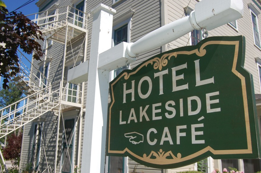 Hotel Lakeside, Lakeside, Ohio by Bruce Stambaugh