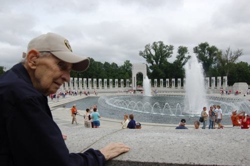 World War II Memorial by Bruce Stambaugh