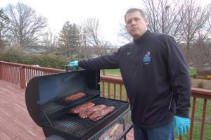 Texas BBQ smoker by Bruce Stambaugh