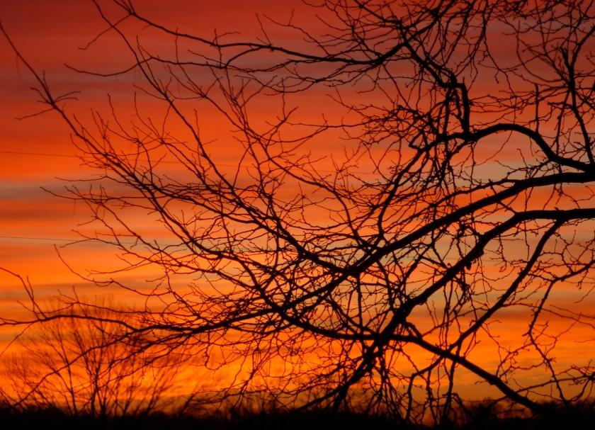 Ohio sunrise by Bruce Stambaugh