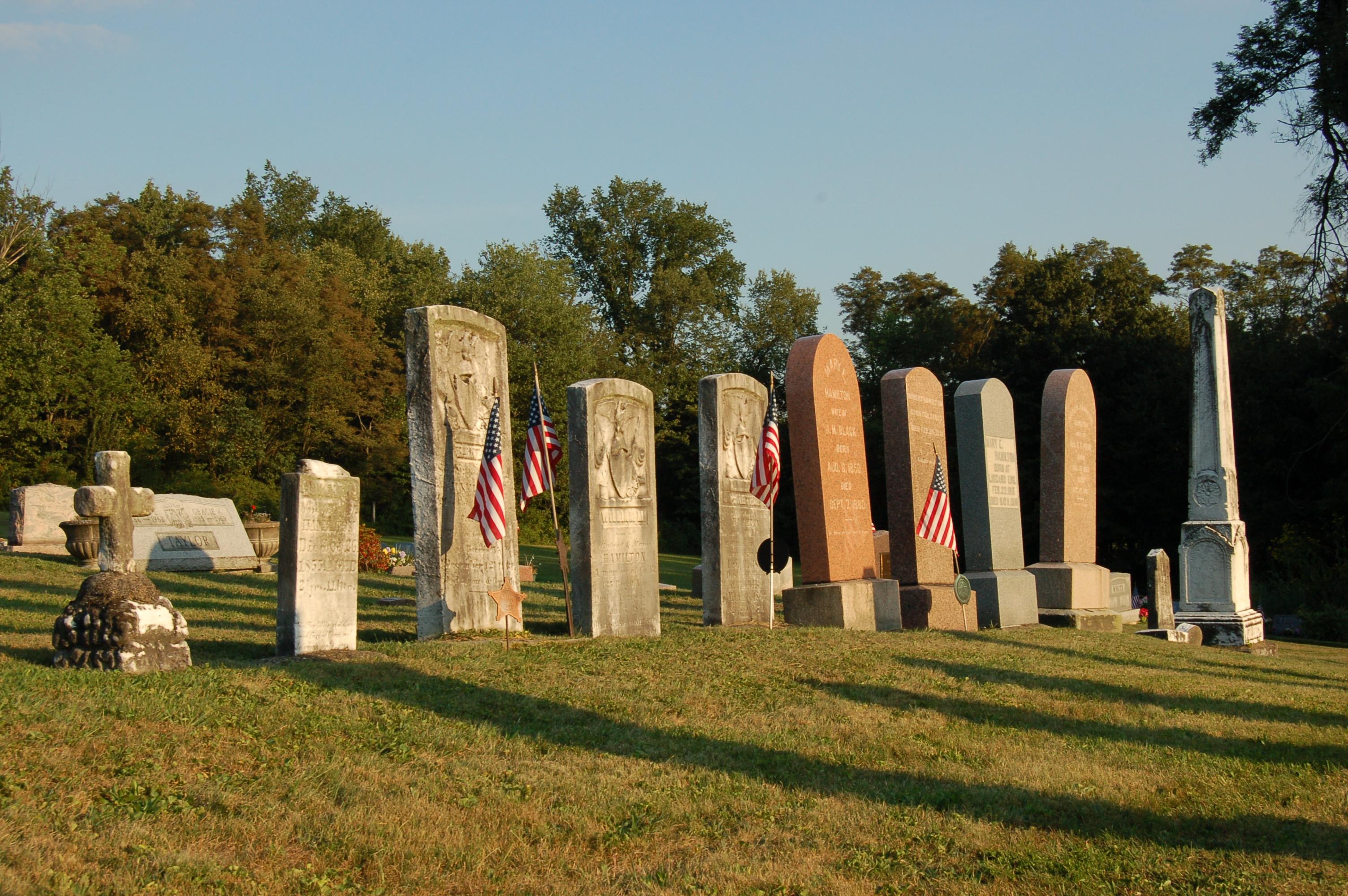 cemetery by Bruce Stambaugh