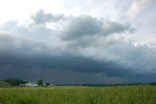 Squall line by Bruce Stambaugh