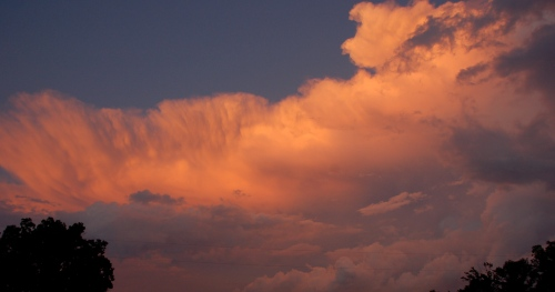 Storm clouds by Bruce Stambaugh