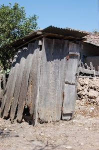 Honduran outhouse by Bruce Stambaugh