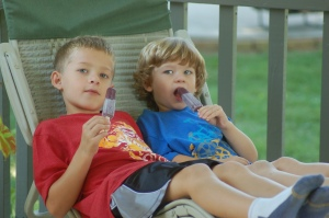 Popsicle days by Bruce Stambaugh