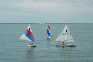 Sailing at Lakeside, Ohio by Bruce Stambaugh