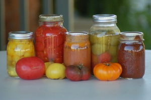 Home canned goods by Bruce Stambaugh
