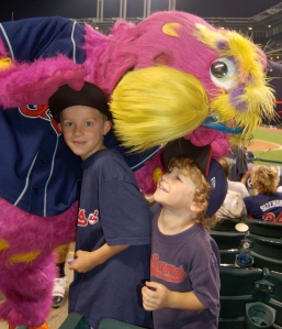 Slider and grandsons by Bruce Stambaugh