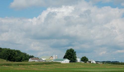 Amish farm Ohio by Bruce Stambaugh