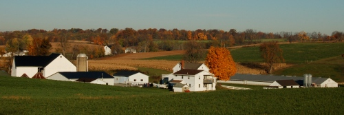 Amish country by Bruce Stambaugh