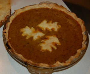 Pumpkin pie by Bruce Stambaugh