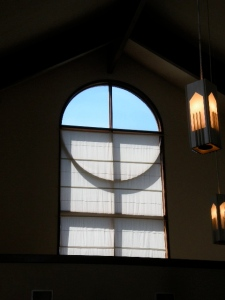 Window cross by Bruce Stambaugh