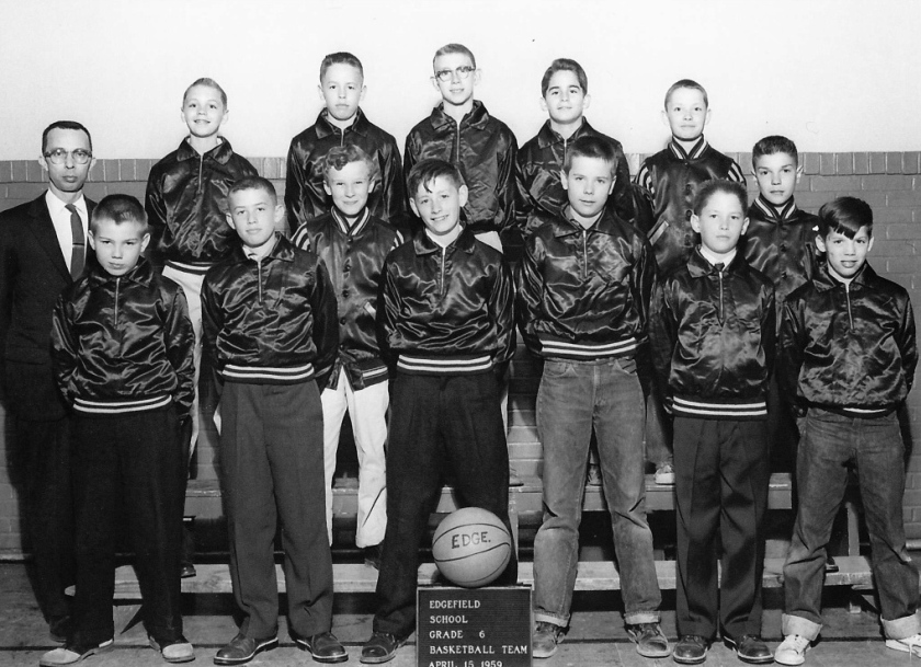 Edgefield basketball team by Bruce Stambaugh