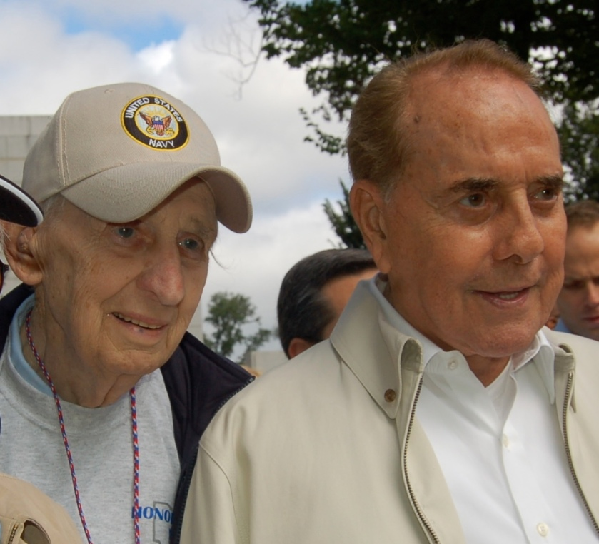 Bob Dole, WW II Memorial