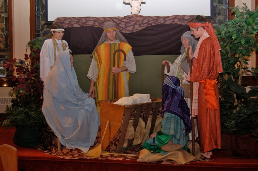Nativity scene by Bruce Stambaugh
