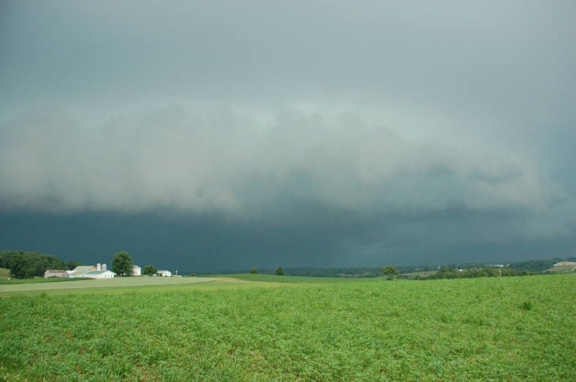 Shelf cloud by Bruce Stambaugh