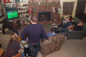 Holiday gathering by Bruce Stambaugh