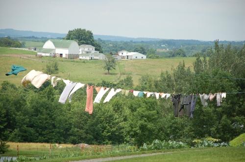 Wash line by Bruce Stambaugh