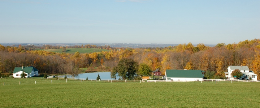 Saltcreek farm by Bruce Stambaugh