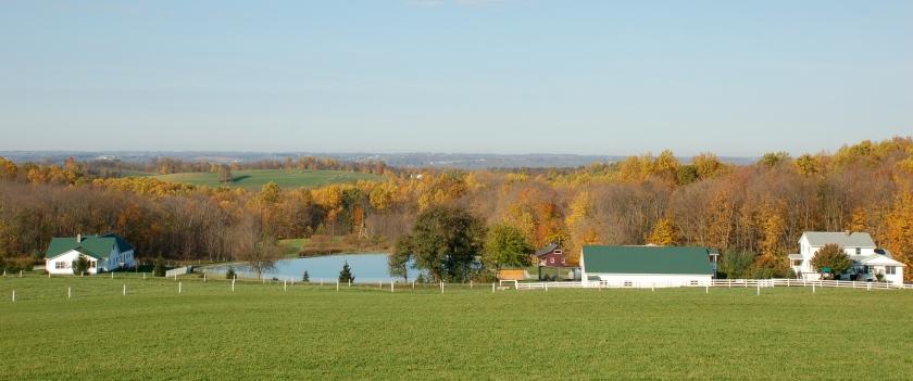 Saltcreek farm by Bruce Stambaugh