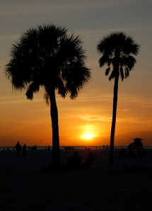 Siesta sunset by Bruce Stambaugh
