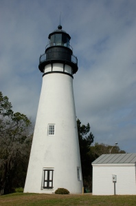 Amelia Island lighthouse by Bruce Stambaugh