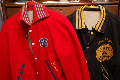 High school jackets by Bruce Stambaugh