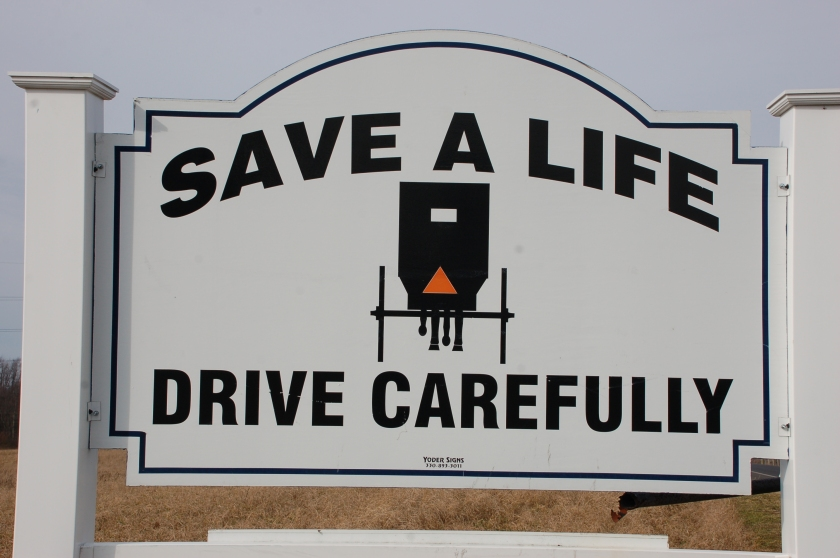 Safety sign by Bruce Stambaugh