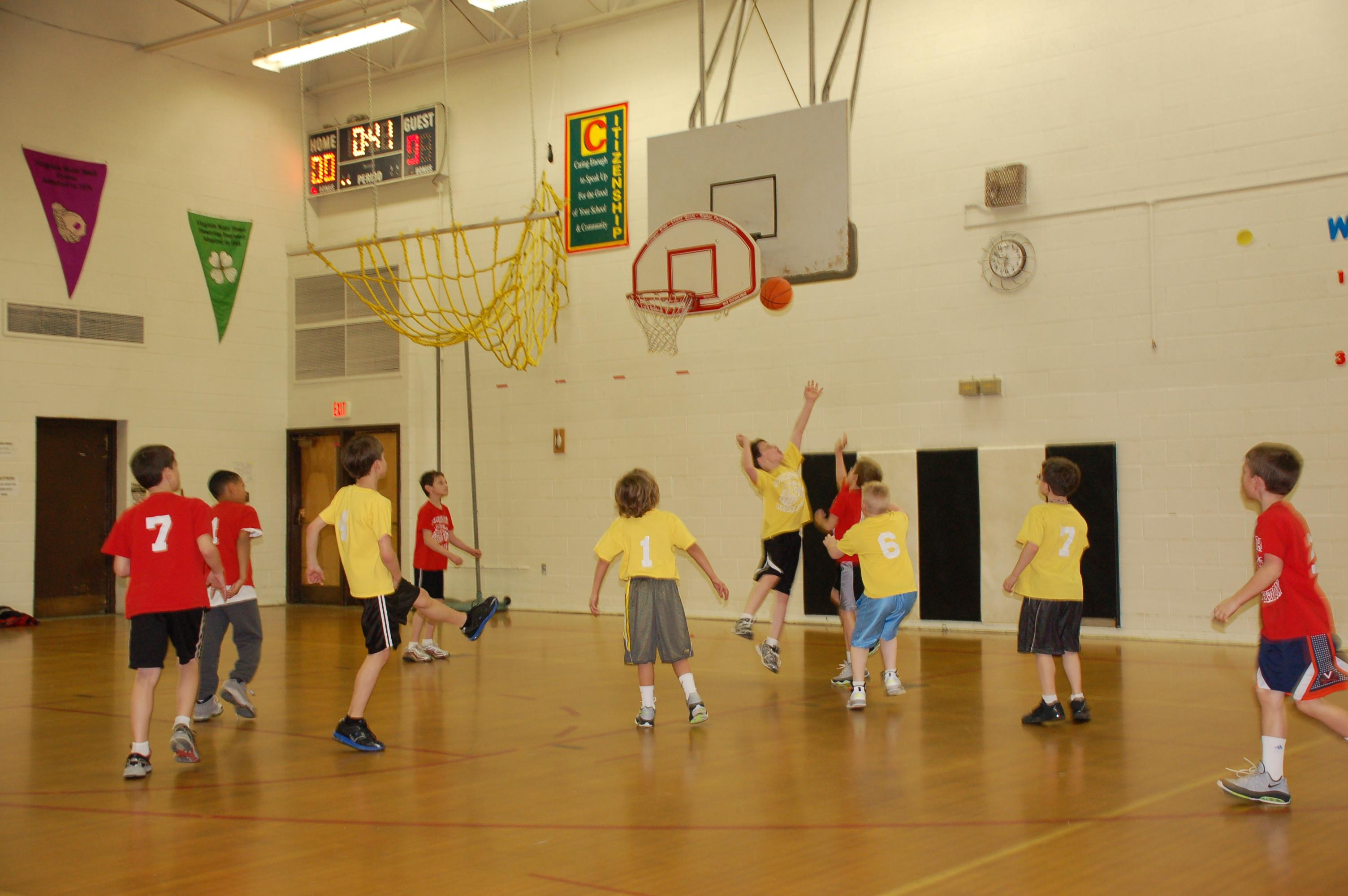 Youth basketball by Bruce Stambaugh