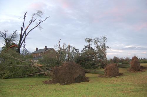 OARDC tornado damage by Bruce Stambaugh