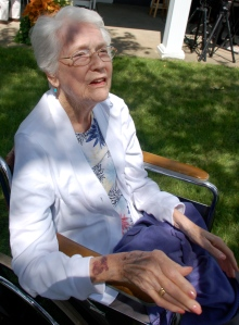 Mom at 90 by Bruce Stambaugh