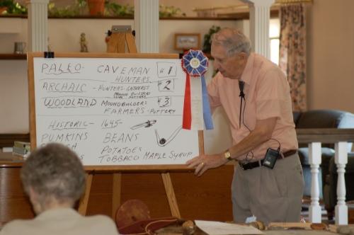 Presentation by Bruce Stambaugh