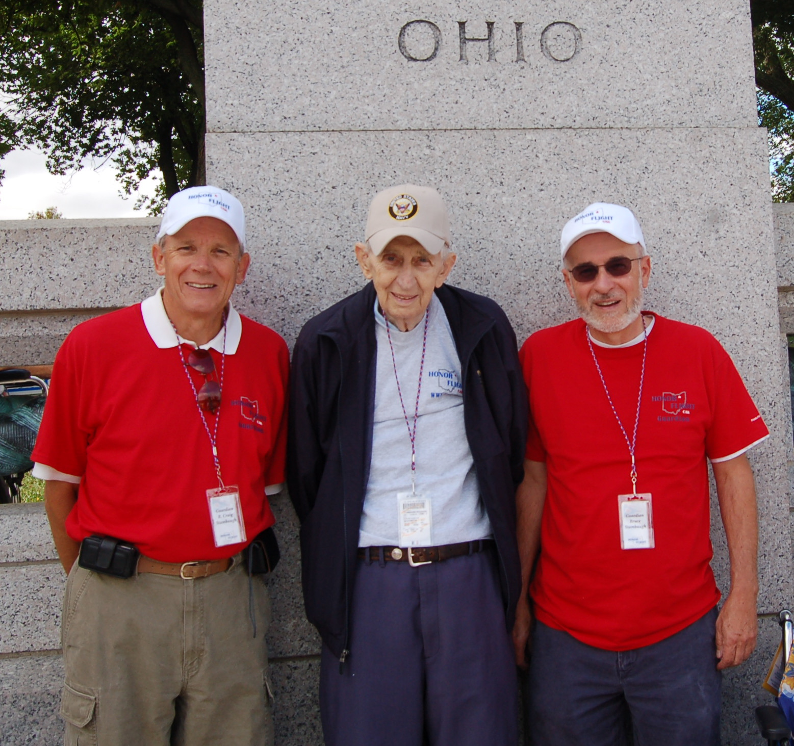 Father and sons by Bruce Stambaugh