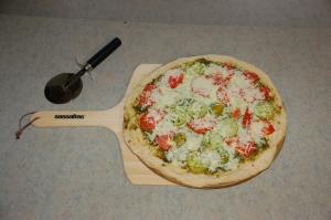 Veggie pizza by Bruce Stambaugh